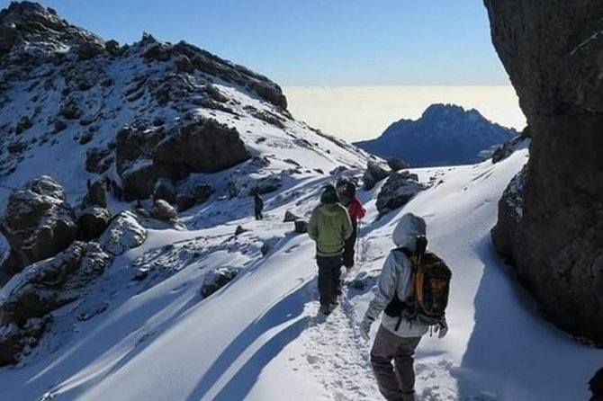 Mountain Kilimanjaro Climbing 5 Days Marangu Route