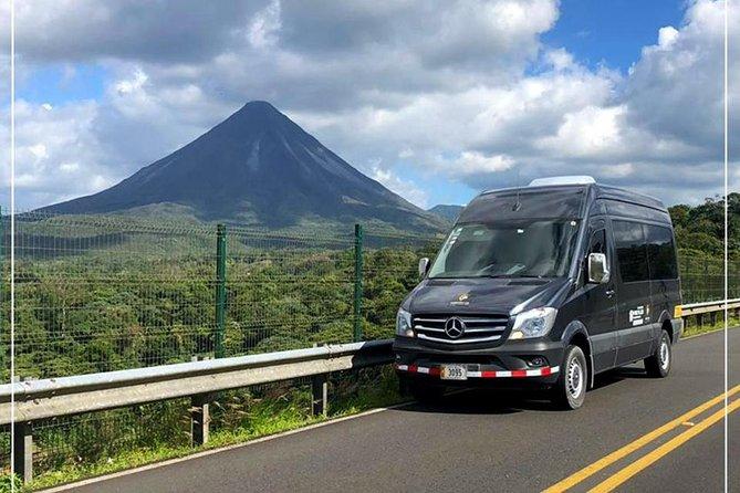 Shared Shuttle from Manuel Antonio to Monteverde   AM