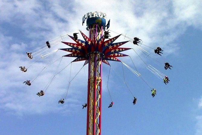 Transportation and access to Six Flags amusement park