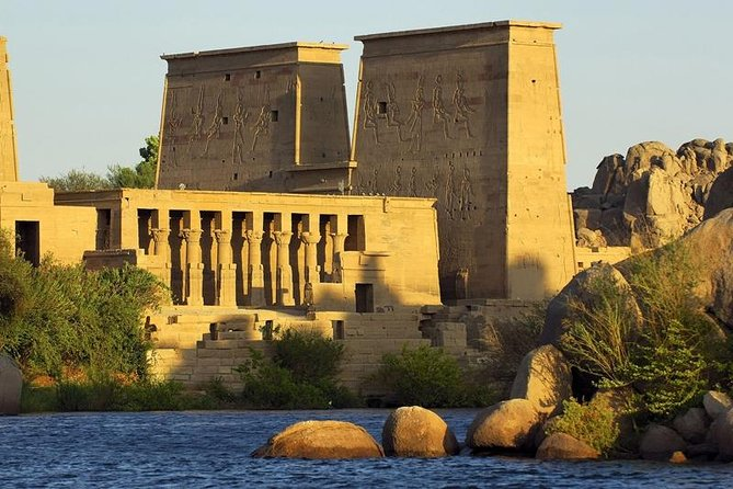 From Aswan: Guided Tour to High Dam, The Obelisk & Philae Temple by Boat