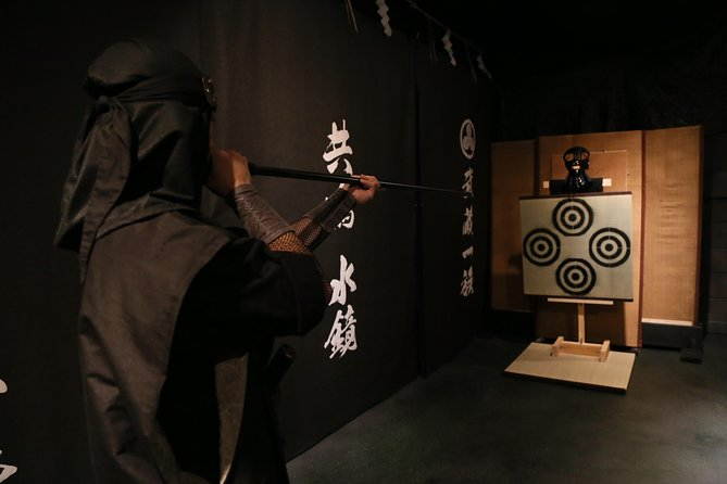 Ninja 45-mins hands-on lesson in English in Tokyo