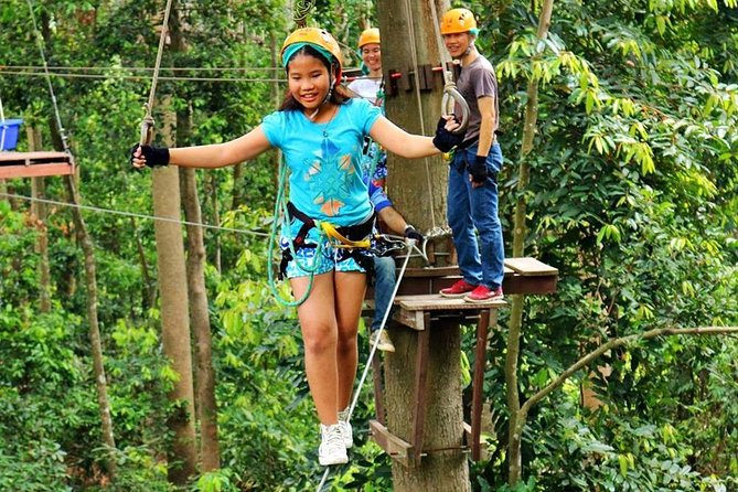 PATTAYA ZIP LINING ADVENTURE (Red Course) (35 Stations)