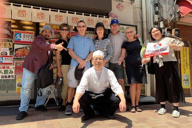Ueno Lokale marktervaring met veel eten