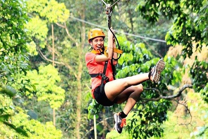 PATTAYA ZIP LINING ADVENTURE (Blue Course) (25 Stations)