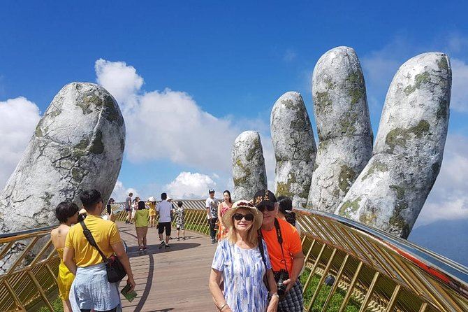 Day Tour to Golden Bridge, Ba Na Mountain via Cable Car from Hoi An or Da Nang photo 9