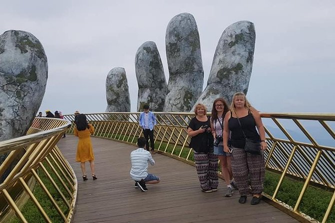 Day Tour to Golden Bridge, Ba Na Mountain via Cable Car from Hoi An or Da Nang photo 8