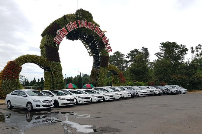 Private transfer: Da Lat airport Lien Khuong (DLI) - Da Lat central hotel