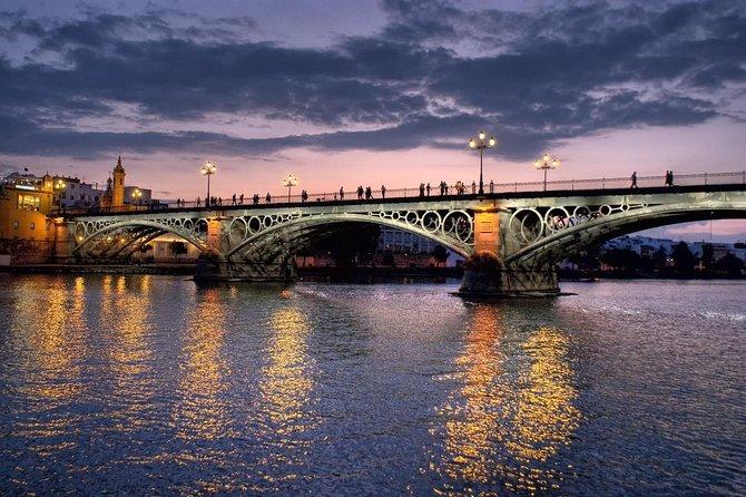 Under cross Triana Bridge; Enjoy the view