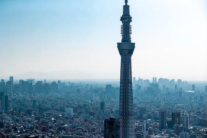 20 min bayside og Skytree Tokyo helikoptertur