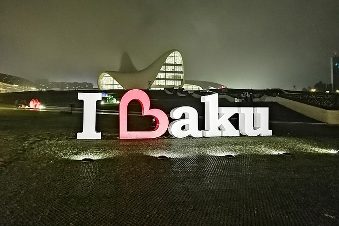4 Days Tour: Airport Pickup + Old City + Night Tour + Day Trip Baku + Gabala