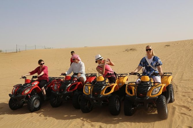 Morning Desert Safari With Quad Bike photo 9