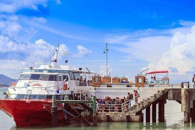 Stopover at Seatran Office at Bang Rak Pier on Koh Samui