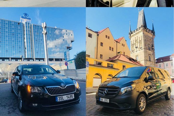 Airport Prague Private Transfer for up to 4 people