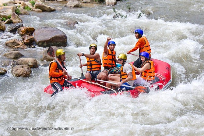 Phuket Rafting and Waterfall Tour