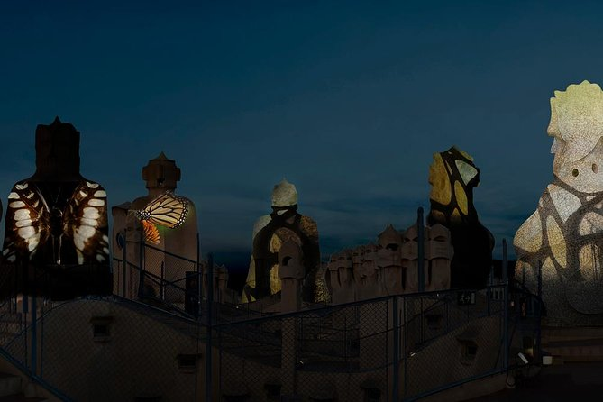 La Pedrera Night Experience: Visit + Audiovisual Display on the Roof Terrace photo 7