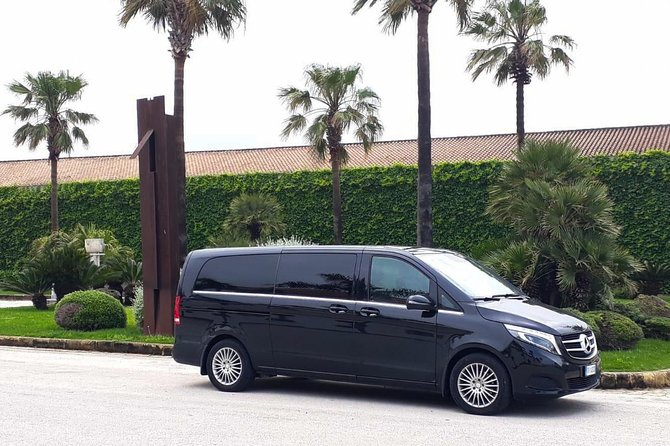 Private transfer from Palermo airport to Cefalù or vice versa
