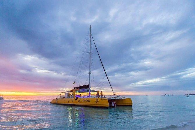 Cruzeiro em Negril Catamarã com pôr do sol no Rick's Cafe