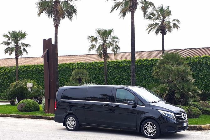 Private transfer from Palermo airport to Trapani or vice versa