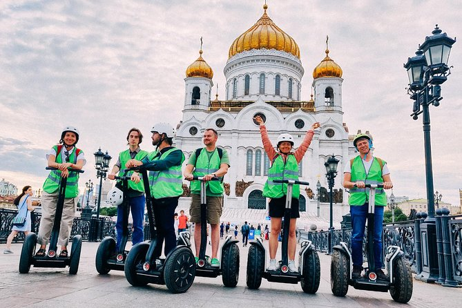 SEGWAY Private tour of Moscow