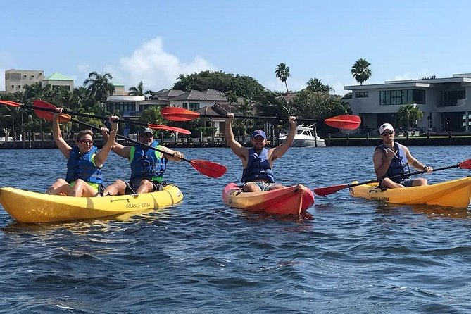 Seven Isles of Fort Lauderdale Kayak Tour