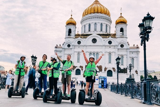 Segway around Moscow (Small Group) photo 10