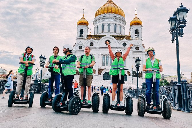 Segway around Moscow (Small Group) photo 18