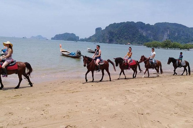 Sunset Horse Riding Tour at Ao Nam Mao Beach Krabi photo 3