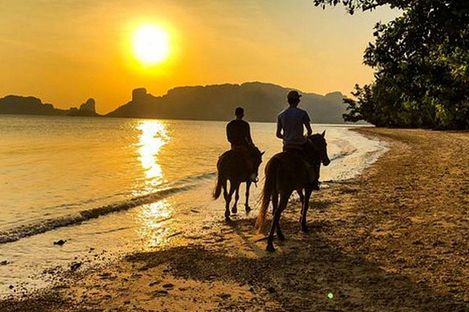 Sunset Horse Riding Tour at Ao Nam Mao Beach Krabi photo 6
