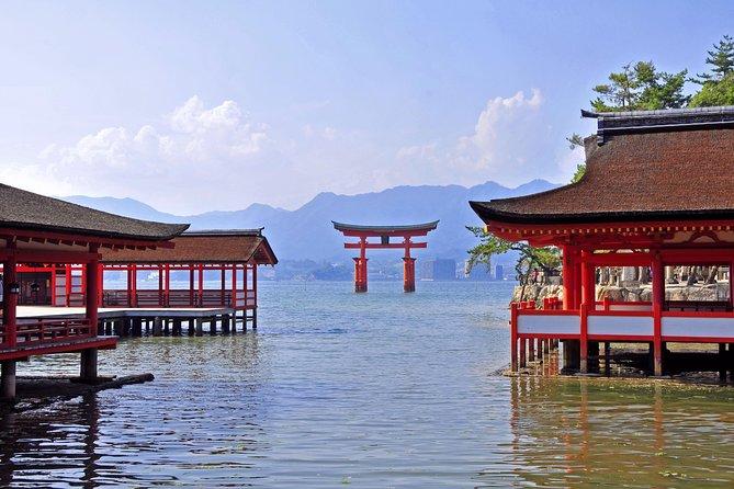 Hiroshima & Miyajima 1-day private tour from Kyoto/Osaka