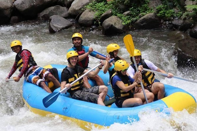 Bali Ayung River Rafting with Lunch and Private Hotel Transfer