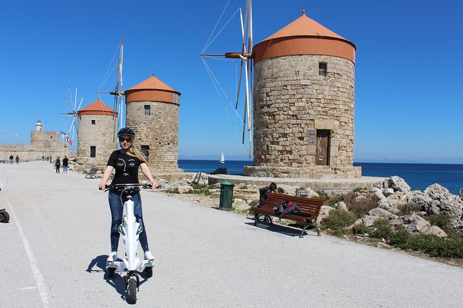Explore the Medieval city of Rhodes on scooters - 2 hours