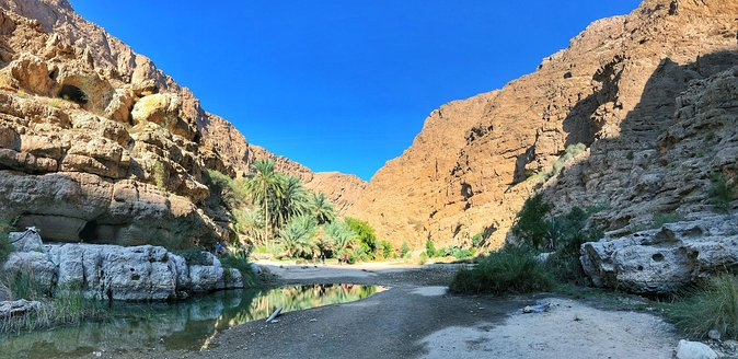 Wadi Shab and Bimmah Sinkhole Group Full Day Tour