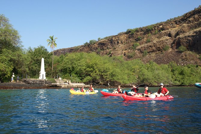 ADVENTURES IN PARADISE AFTERNOON 11:30AM KAYAK & SNORKEL - Captain Cook Monument