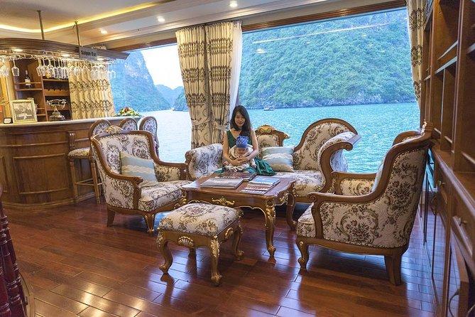 Halong Bay 2 days 1 night on Emperor Cruise 5 star