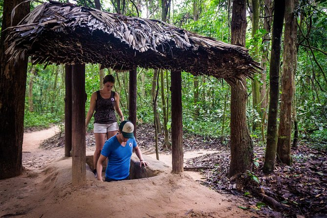 Half day Cu Chi Tunnels Join small group tour