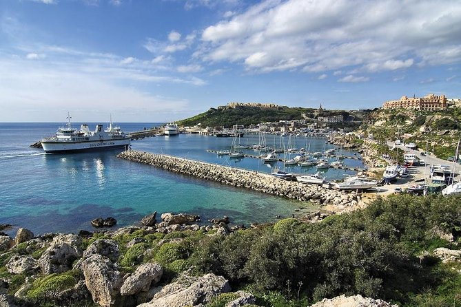 Gozo island guided day tour from Malta