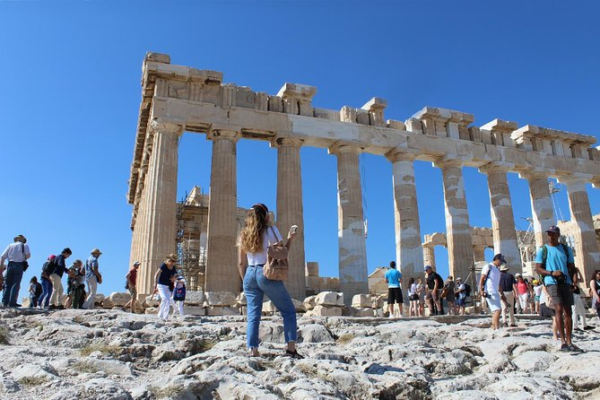 Acropolis of Athens: Self-guided Audio Tour on your Phone (without ticket)