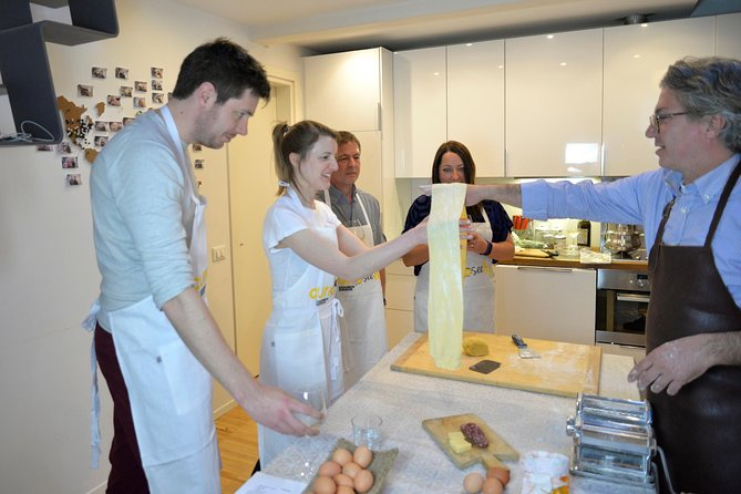 Homemade Pasta Class with a Local Chef in Genoa