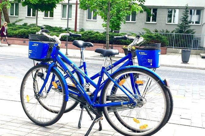 Bike rent in Vilnius for 2 hours