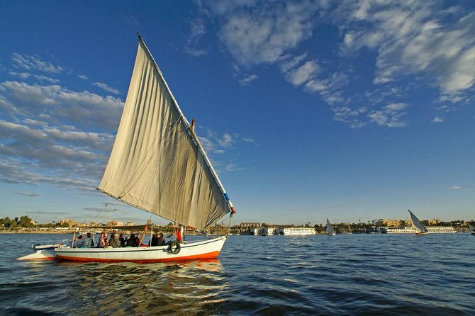 Luxor Nile River Private Felucca Ride at Sunset
