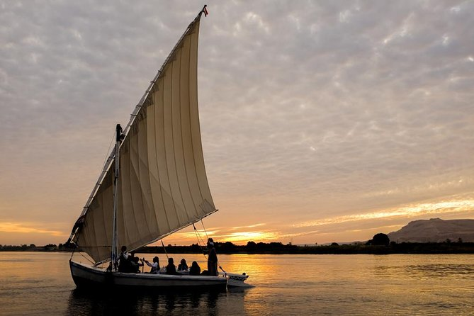 Luxor Nile River Private Felucca Ride at Sunset photo 6