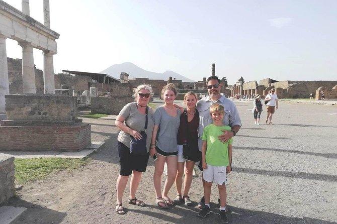 Private Shore Excursion from Naples to Pompeii, Sorrento and Positano