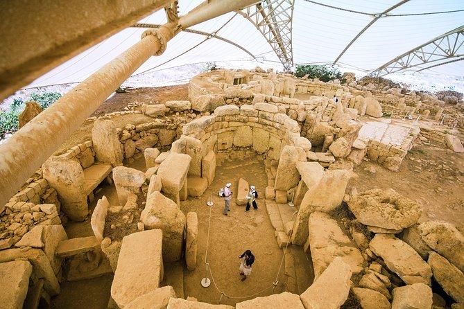 Hagar Qim temple (UNESCO) and Limestone Heritage guided tour, La Valeta, MALTA