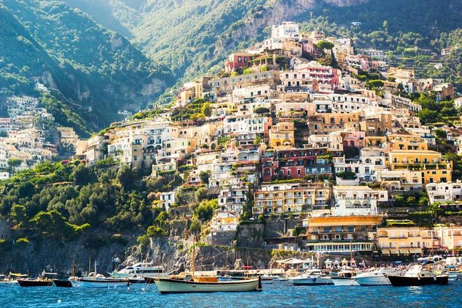 Amalfi Drive - with Lunch and Guide from Naples