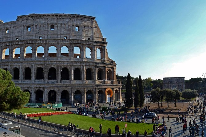 ROME: Colosseum tour by gladiator's arena gate