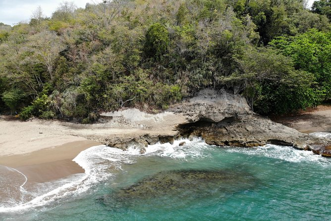Beach & Waterfall Safari St. Lucia From Castries