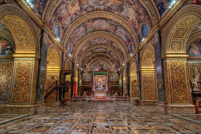 Valletta (UNESCO) guided tour including St John's Co-Cathedral, Malta Experience