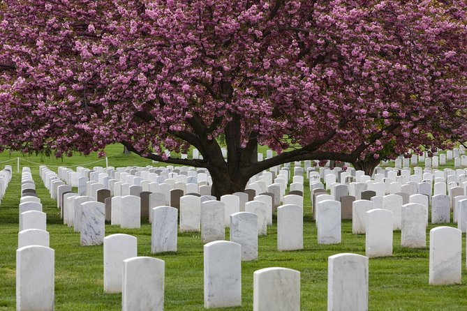 War Memorial and Arlington Cemetery Tour