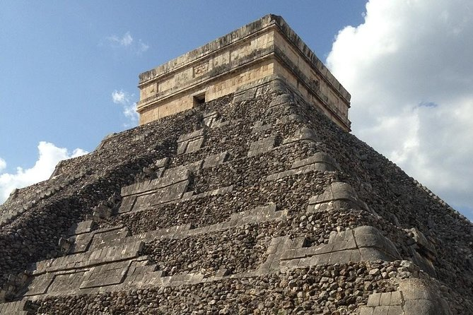 Discover Chichen Itza with Round Trip, Buffet, Cenote Swim and Valladolid Tour