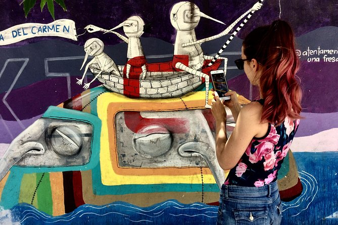 Playa del Carmen Private Street Art Tour